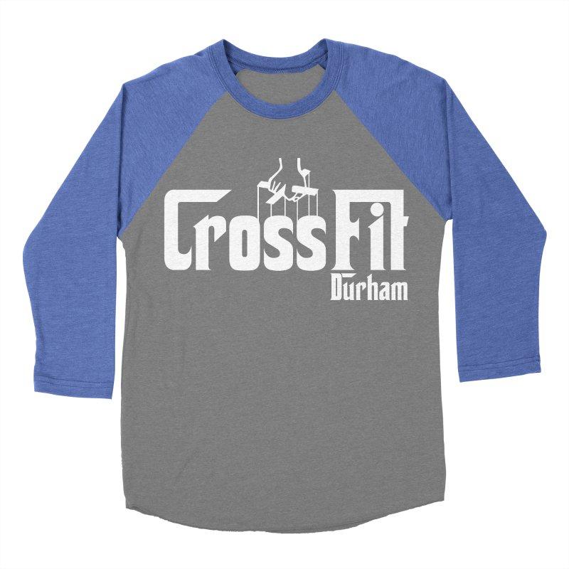 Godfather Men's Baseball Triblend Longsleeve T-Shirt by CrossFit Durham