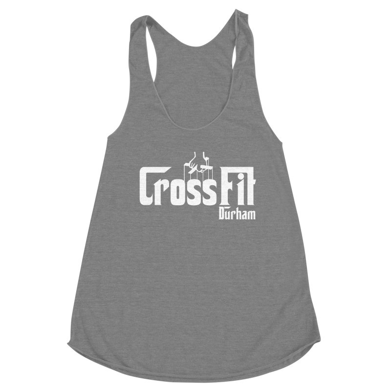 Godfather Women's Racerback Triblend Tank by CrossFit Durham