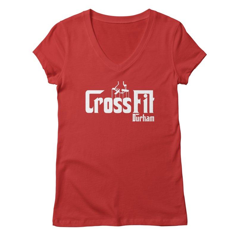 Godfather Women's Regular V-Neck by CrossFit Durham