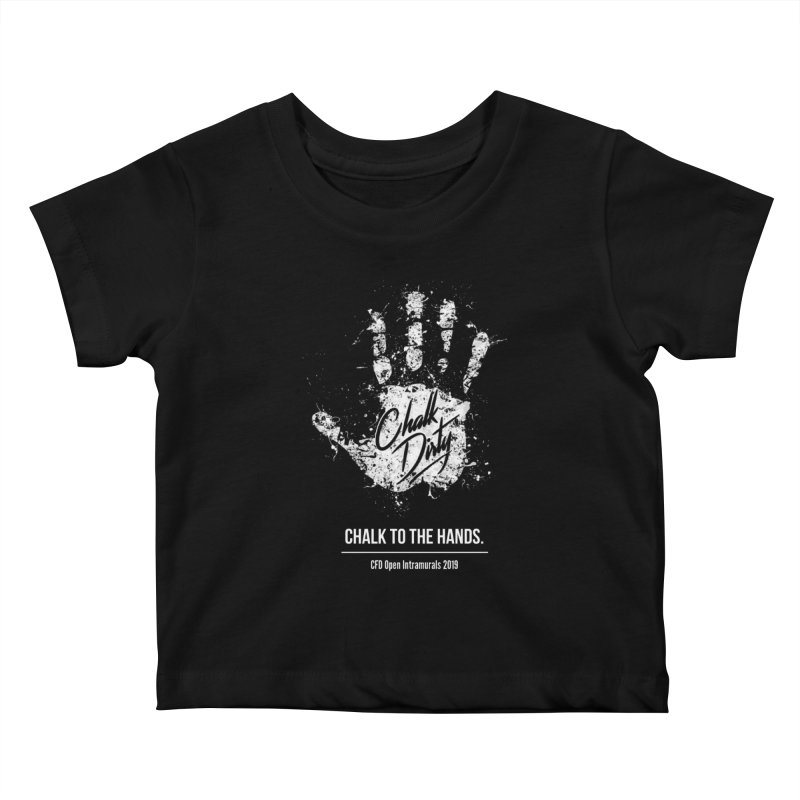 Chalk Dirty (2019 CFD Intrmurals) Kids Baby T-Shirt by CrossFit Durham