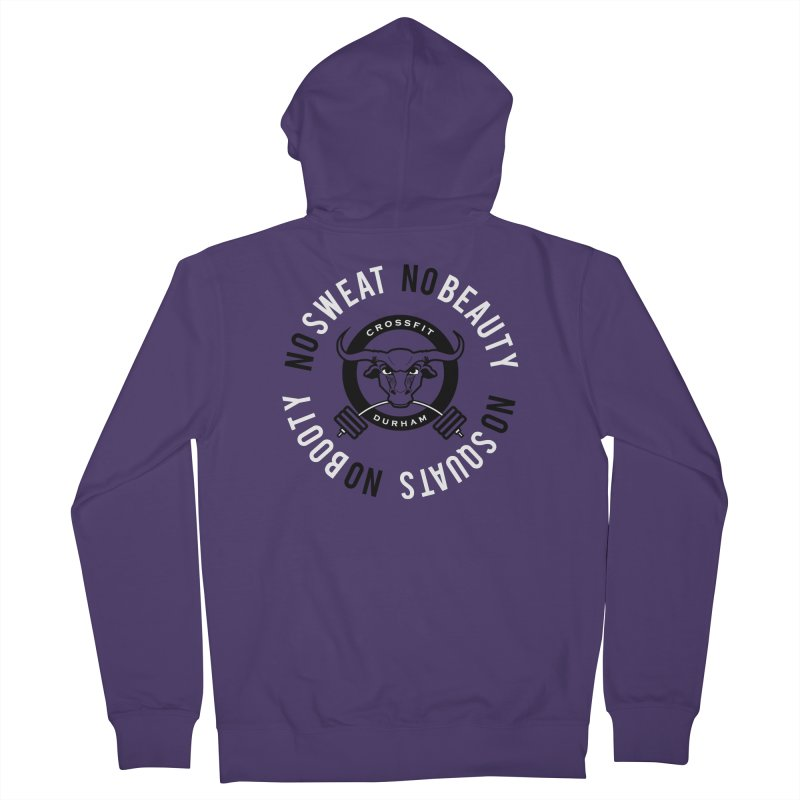 Booty Sweat (CFD Intramurals 2019) Women's French Terry Zip-Up Hoody by CrossFit Durham