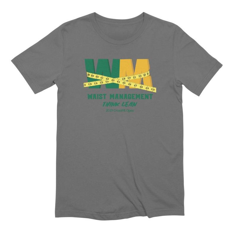 Waist Management (CFD Intramurals 2019) Men's Extra Soft T-Shirt by CrossFit Durham