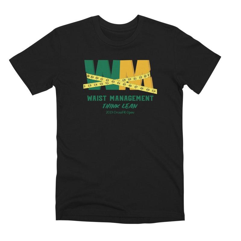 Waist Management (CFD Intramurals 2019) Men's Premium T-Shirt by CrossFit Durham