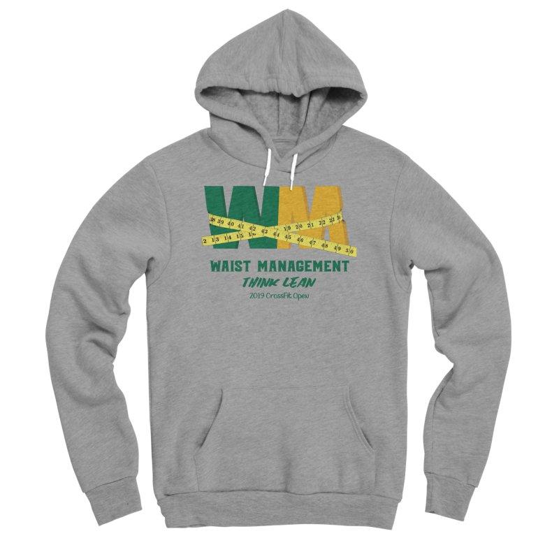 Waist Management (CFD Intramurals 2019) Men's Sponge Fleece Pullover Hoody by CrossFit Durham
