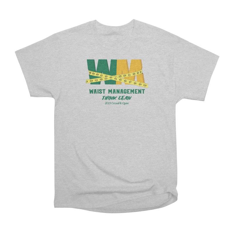 Waist Management (CFD Intramurals 2019) Men's Heavyweight T-Shirt by CrossFit Durham