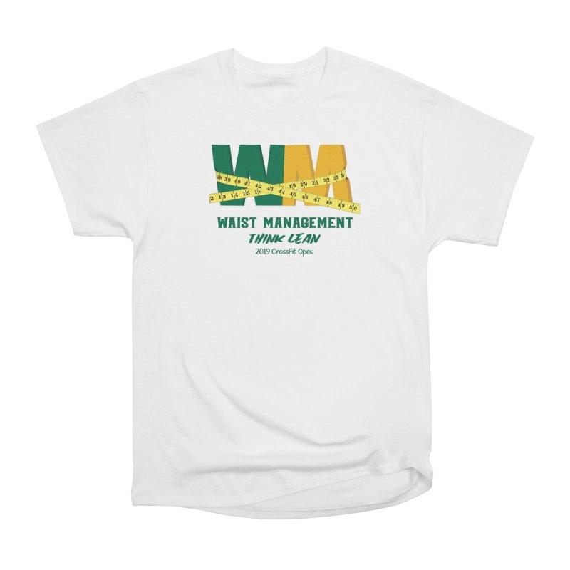 Waist Management (CFD Intramurals 2019) Women's Heavyweight Unisex T-Shirt by CrossFit Durham