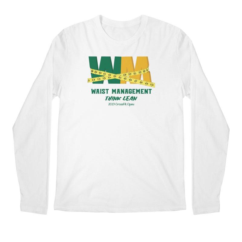 Waist Management (CFD Intramurals 2019) Men's Regular Longsleeve T-Shirt by CrossFit Durham