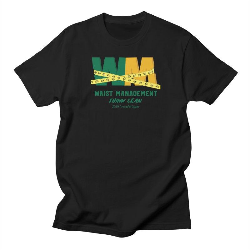 Waist Management (CFD Intramurals 2019) Men's Regular T-Shirt by CrossFit Durham