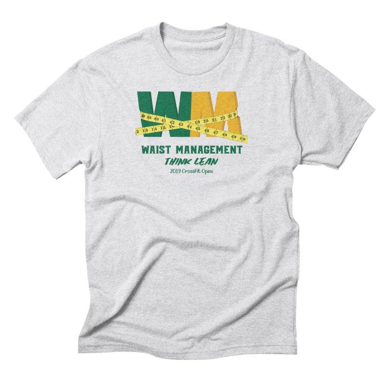 Waist Management (CFD Intramurals 2019) Men's Triblend T-Shirt by CrossFit Durham