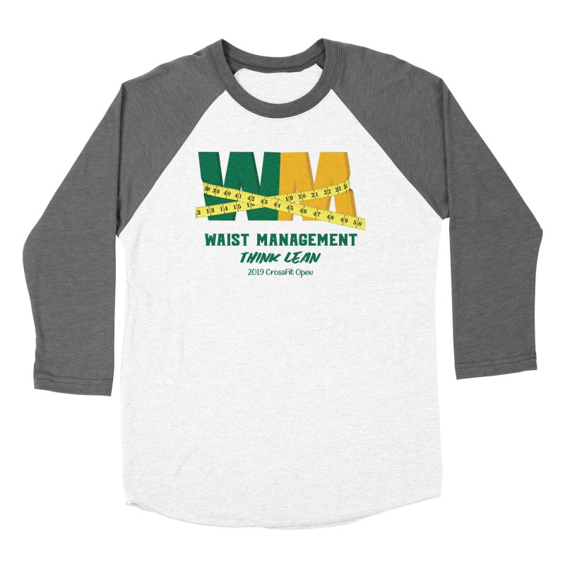Waist Management (CFD Intramurals 2019) Women's Baseball Triblend Longsleeve T-Shirt by CrossFit Durham