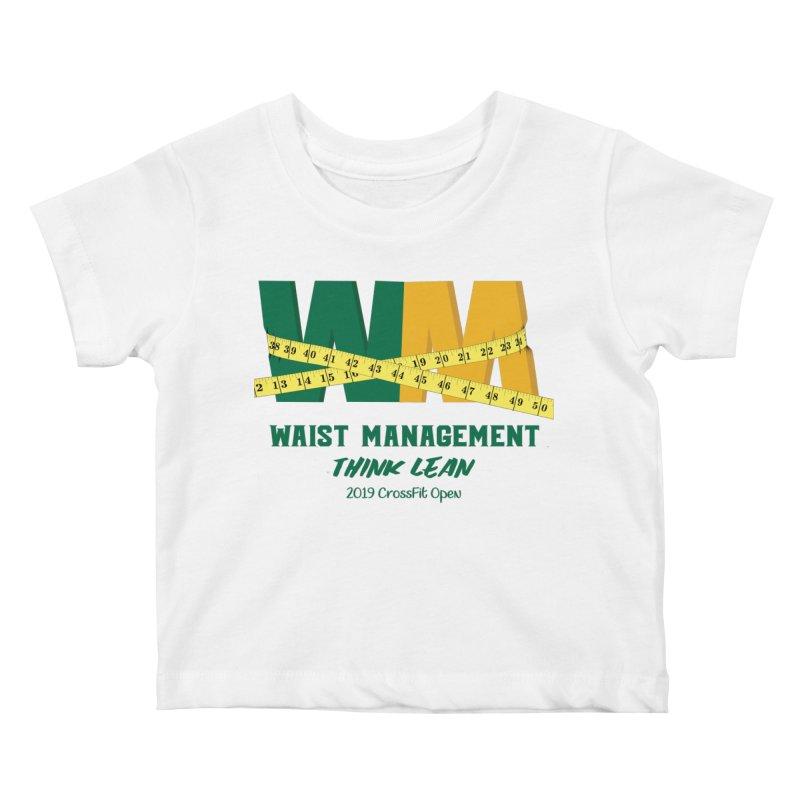 Waist Management (CFD Intramurals 2019) Kids Baby T-Shirt by CrossFit Durham