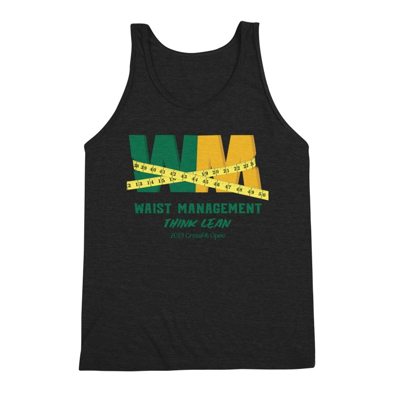 Waist Management (CFD Intramurals 2019) Men's Triblend Tank by CrossFit Durham