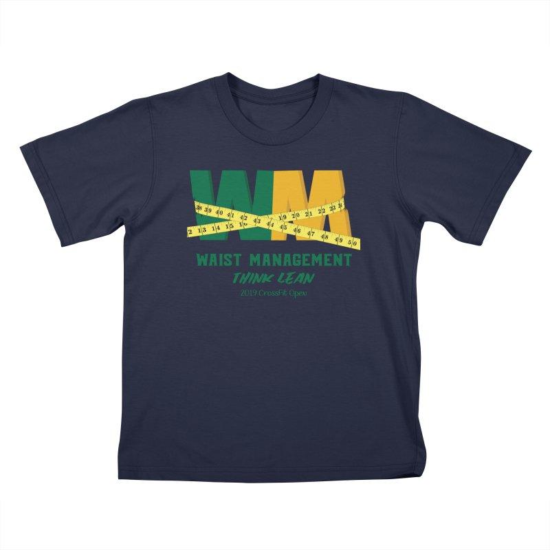 Waist Management (CFD Intramurals 2019) Kids T-Shirt by CrossFit Durham