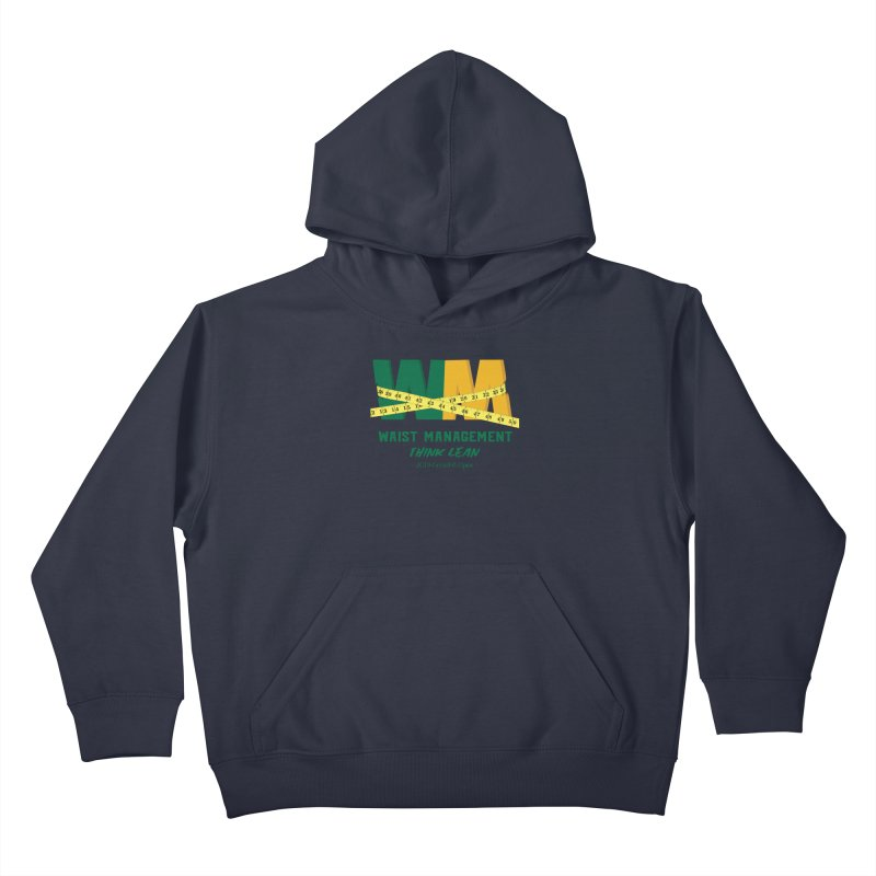 Waist Management (CFD Intramurals 2019) Kids Pullover Hoody by CrossFit Durham