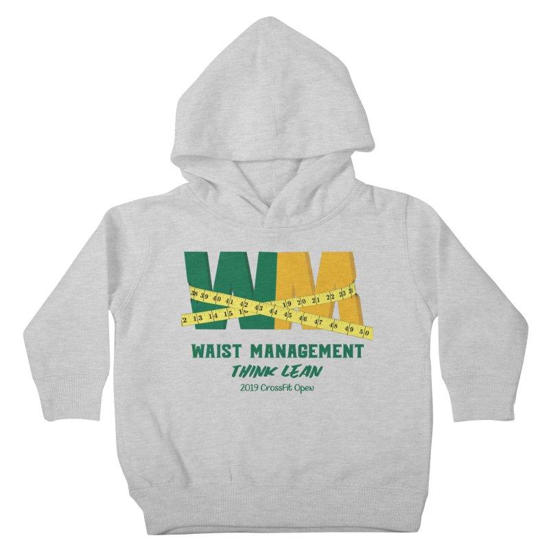 Waist Management (CFD Intramurals 2019) Kids Toddler Pullover Hoody by CrossFit Durham