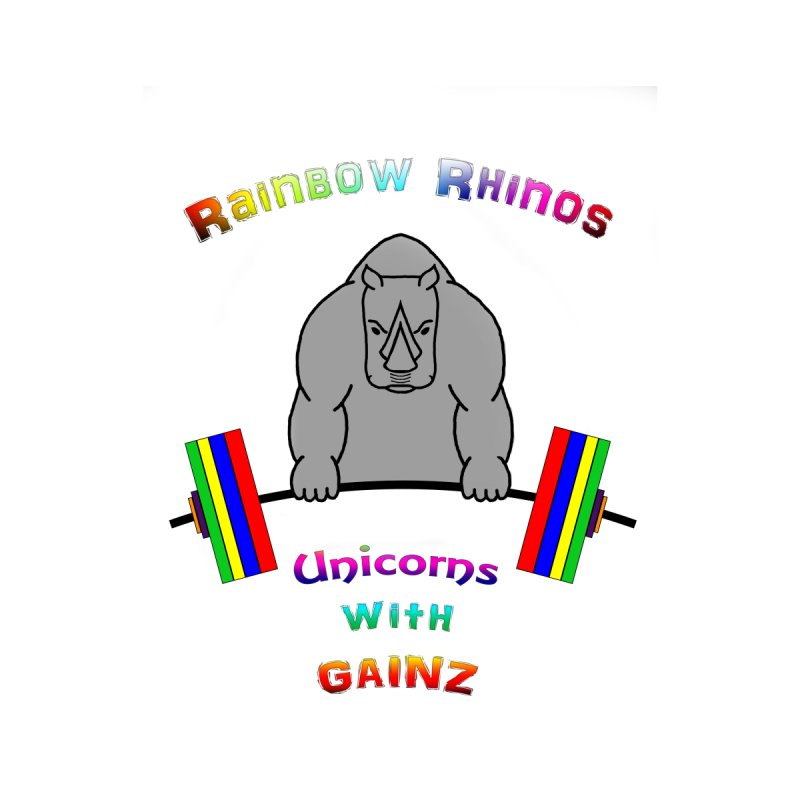 Rainbow Rhinos 2 (CFD Intramurals 2019) Women's T-Shirt by Courage Fitness Durham