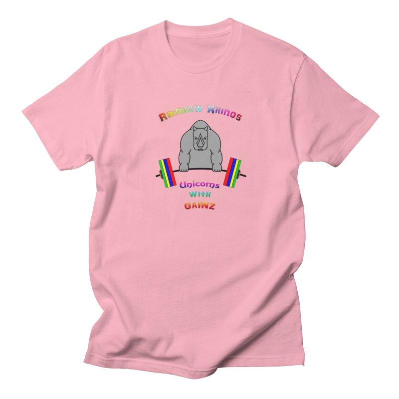 Rainbow Rhinos 2 (CFD Intramurals 2019) Women's Regular Unisex T-Shirt by CrossFit Durham