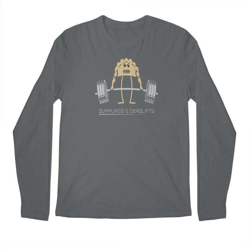 Dumplings and Deadlifts (CFD Intramurals 2019) Men's Regular Longsleeve T-Shirt by CrossFit Durham