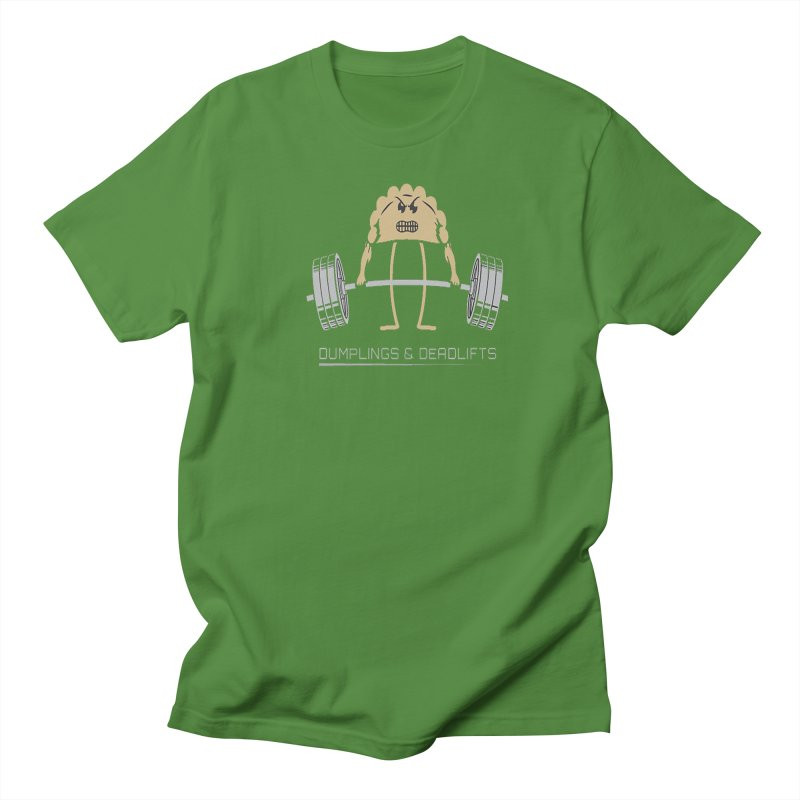 Dumplings and Deadlifts (CFD Intramurals 2019) Men's Regular T-Shirt by CrossFit Durham