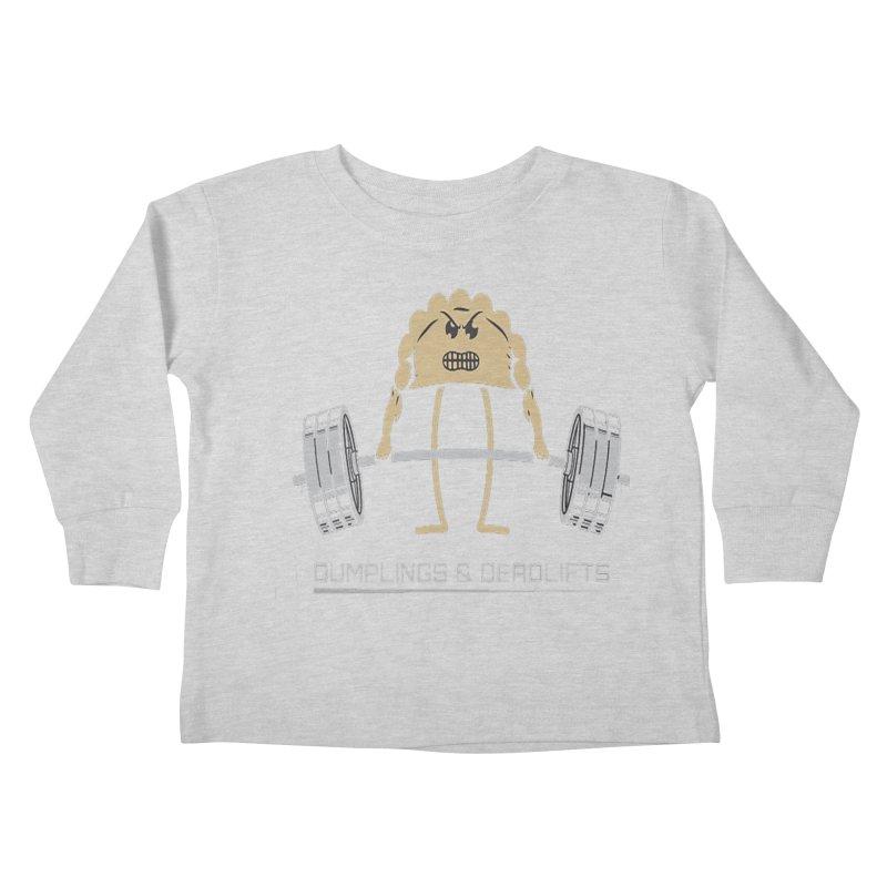 Dumplings and Deadlifts (CFD Intramurals 2019) Kids Toddler Longsleeve T-Shirt by CrossFit Durham