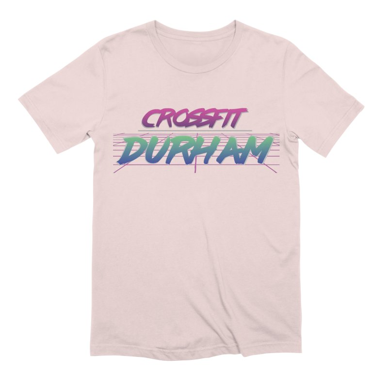 80's Neon Men's Extra Soft T-Shirt by CrossFit Durham