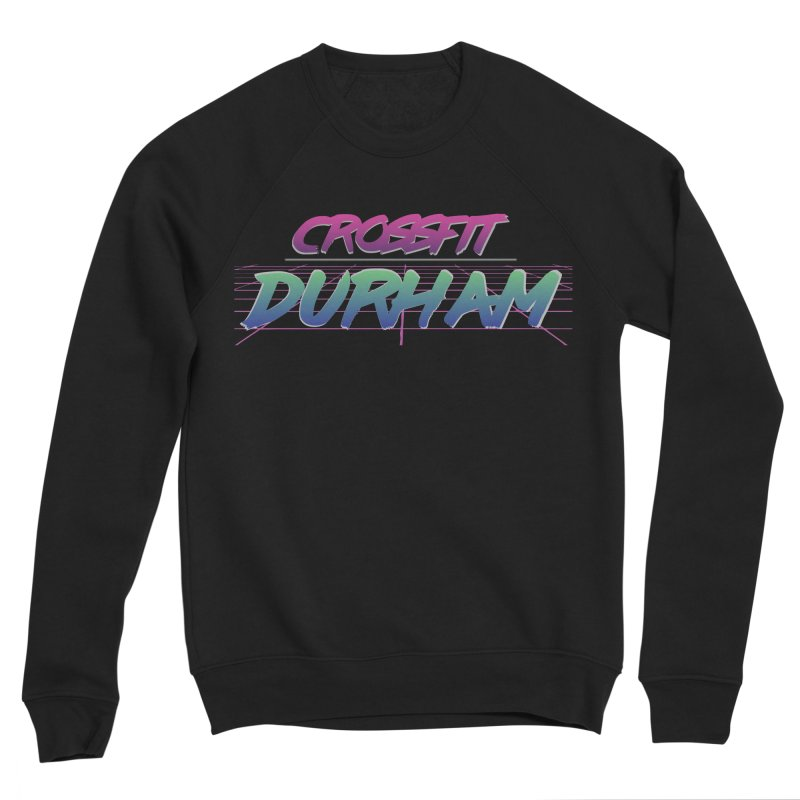 80's Neon Men's Sponge Fleece Sweatshirt by CrossFit Durham