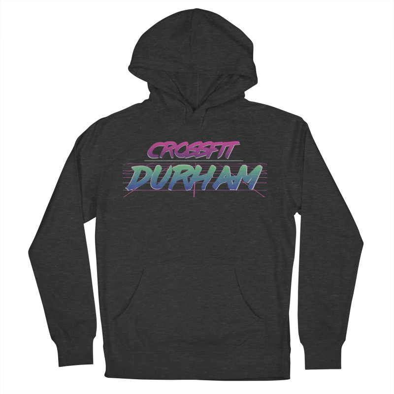 80's Neon Women's French Terry Pullover Hoody by CrossFit Durham