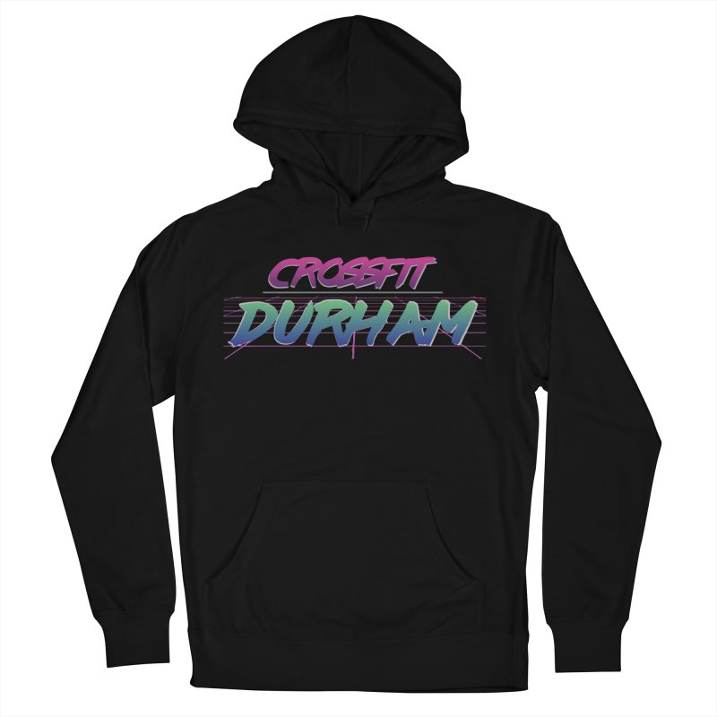 80's Neon Men's French Terry Pullover Hoody by CrossFit Durham