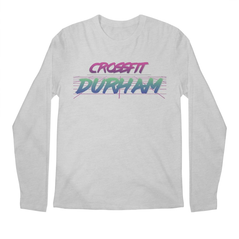 80's Neon Men's Regular Longsleeve T-Shirt by CrossFit Durham