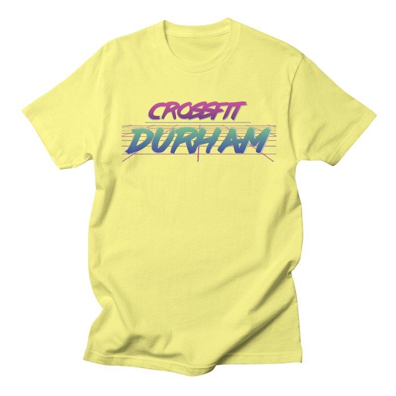 80's Neon Men's Regular T-Shirt by CrossFit Durham