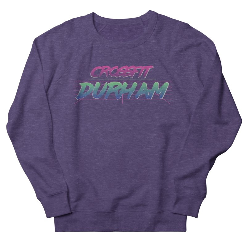 80's Neon Men's French Terry Sweatshirt by CrossFit Durham