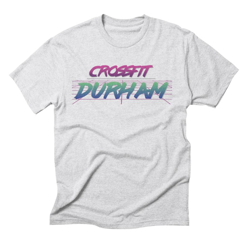 80's Neon Men's Triblend T-Shirt by CrossFit Durham