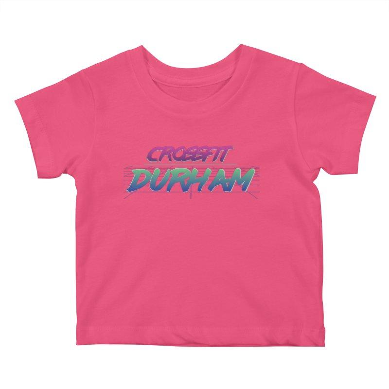 80's Neon Kids Baby T-Shirt by CrossFit Durham