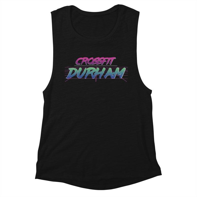 80's Neon Women's Muscle Tank by CrossFit Durham