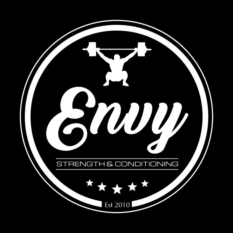 Envy Strength and Conditioning (White) by Crossfit Envy's Artist Shop