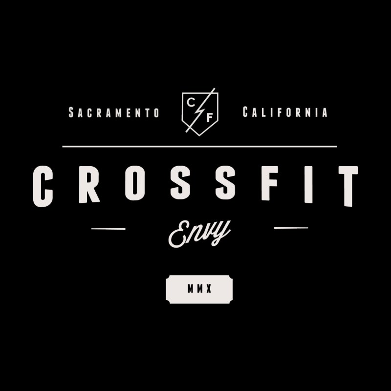 CrossFit Envy Logo (White) by Crossfit Envy's Artist Shop