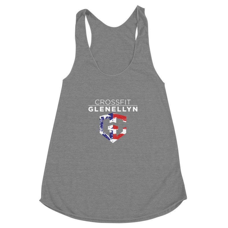 Murph 2017 Women's Racerback Triblend Tank by CrossFit Glen Ellyn