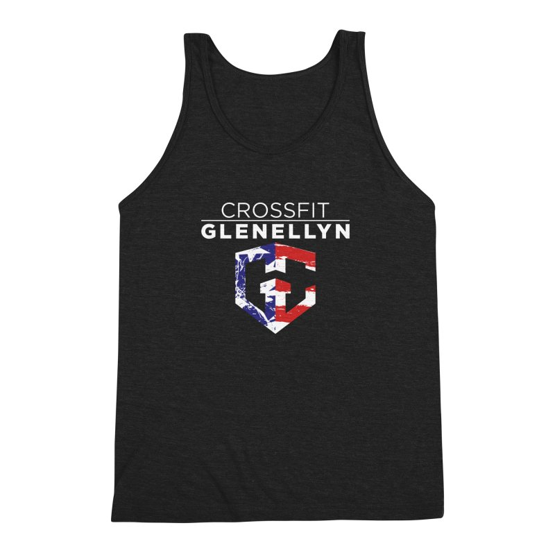 Murph 2017 Men's Triblend Tank by CrossFit Glen Ellyn