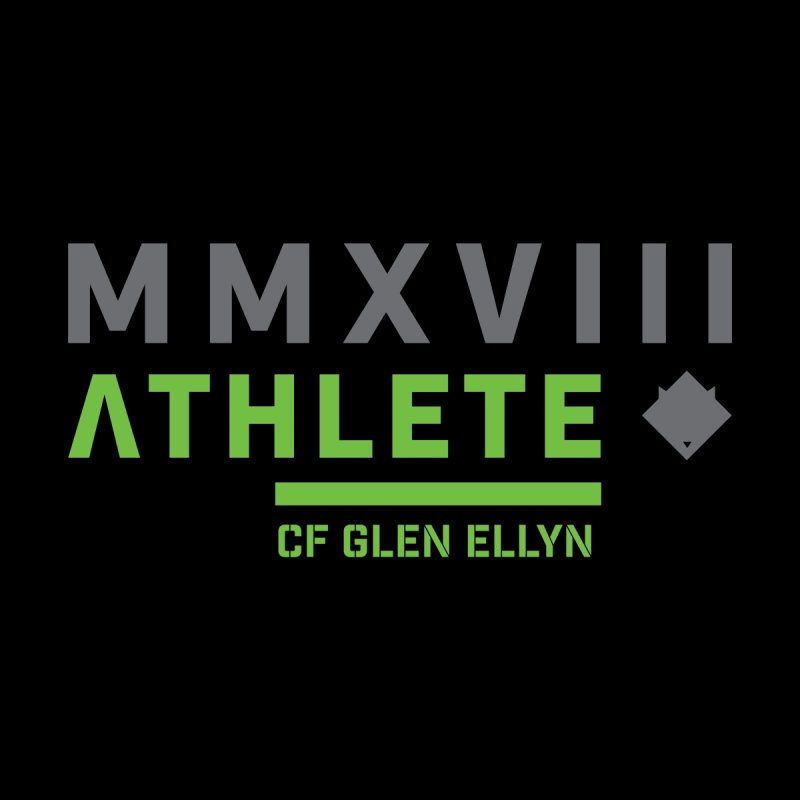 "2018 Open Shirt: ""MMXVIII"" by CrossFit Glen Ellyn"