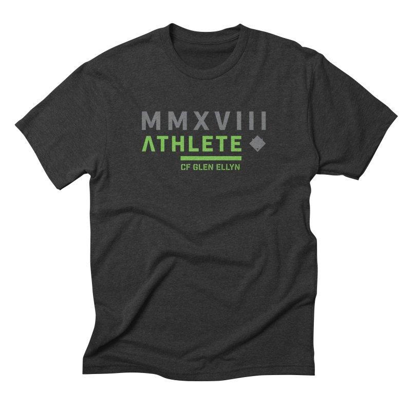 """2018 Open Shirt: """"MMXVIII"""" Men's Triblend T-Shirt by CrossFit Glen Ellyn"""