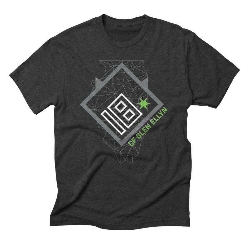 "2018 Open Collection: ""Community"" in Men's Triblend T-Shirt Heather Onyx by CrossFit Glen Ellyn"