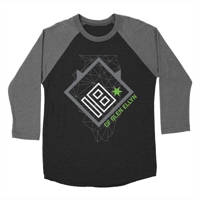 "2018 Open Collection: ""Community"" in Men's Baseball Triblend Longsleeve T-Shirt Grey Triblend Sleeves by CrossFit Glen Ellyn"