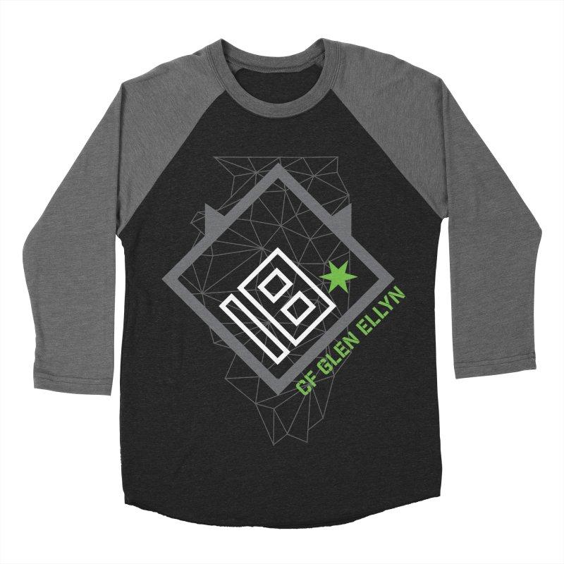 """2018 Open Collection: """"Community"""" Women's Baseball Triblend Longsleeve T-Shirt by CrossFit Glen Ellyn"""