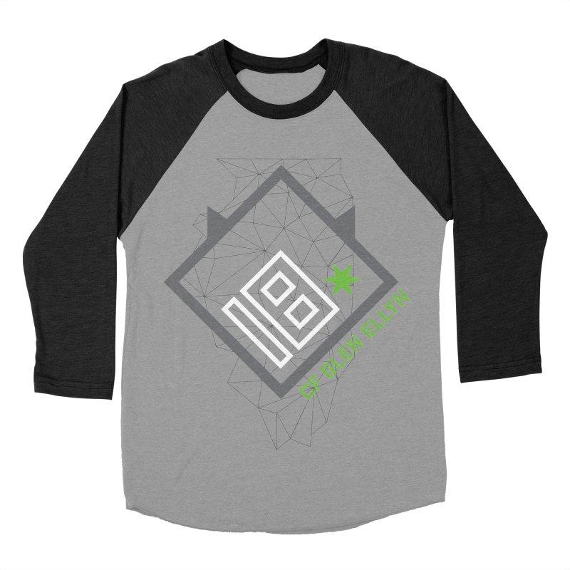 """2018 Open Collection: """"Community"""" Men's Baseball Triblend Longsleeve T-Shirt by CrossFit Glen Ellyn"""