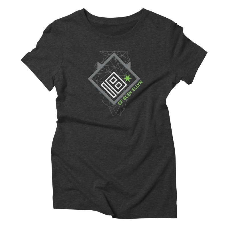 """2018 Open Collection: """"Community"""" in Women's Triblend T-Shirt Heather Onyx by CrossFit Glen Ellyn"""