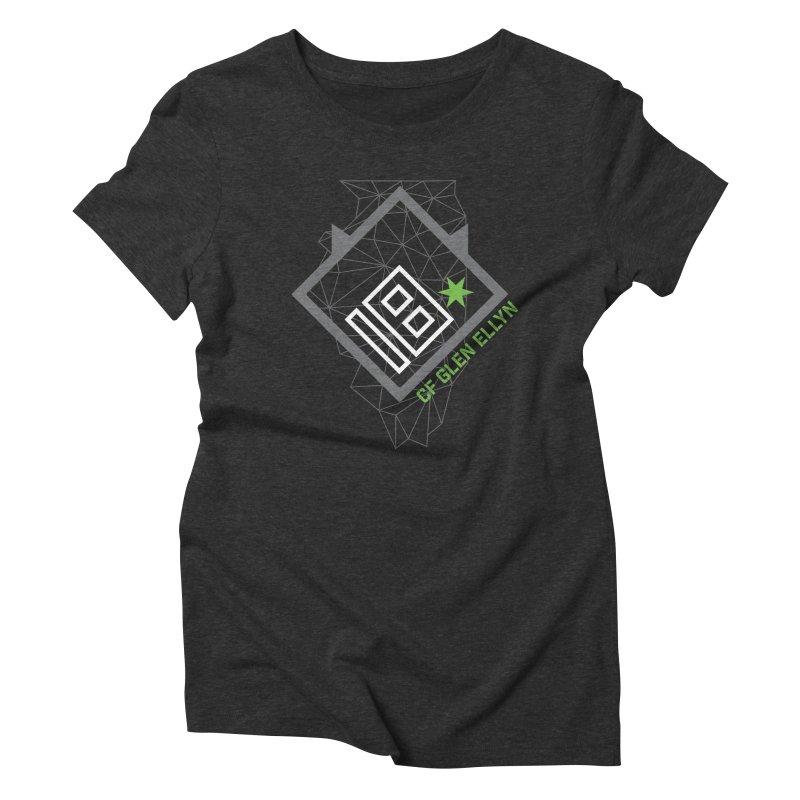 """2018 Open Collection: """"Community"""" Women's Triblend T-Shirt by CrossFit Glen Ellyn"""
