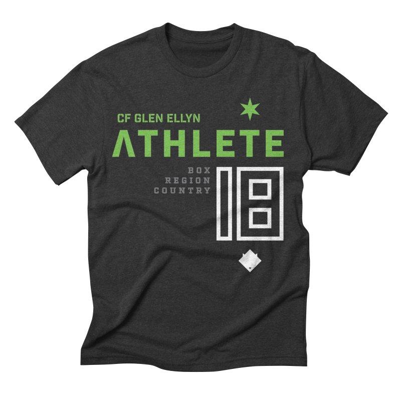"""2018 Open Shirt: """"Athlete 18"""" Men's Triblend T-Shirt by CrossFit Glen Ellyn"""