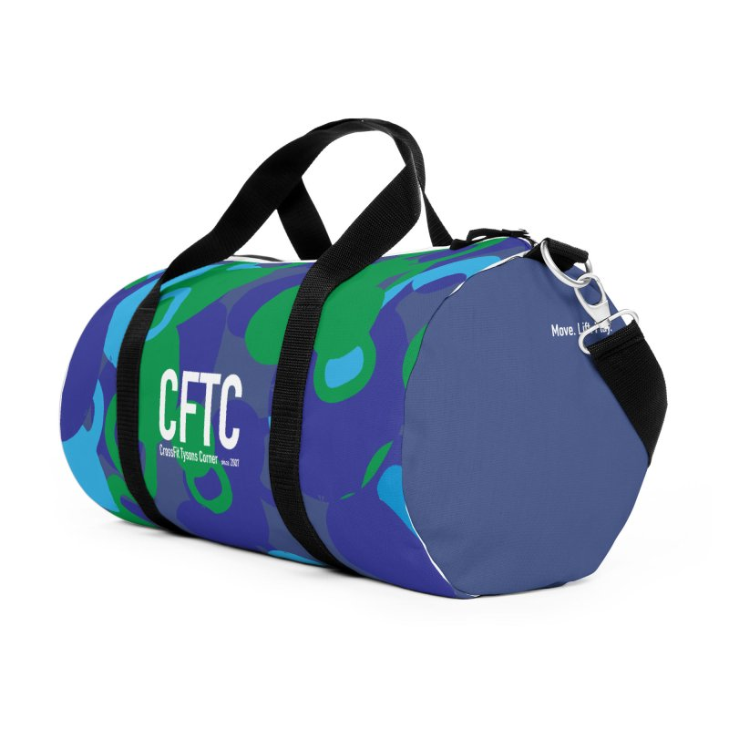 CFTC Duffel in Duffel Bag by CrossFit Tysons Corner Apparel