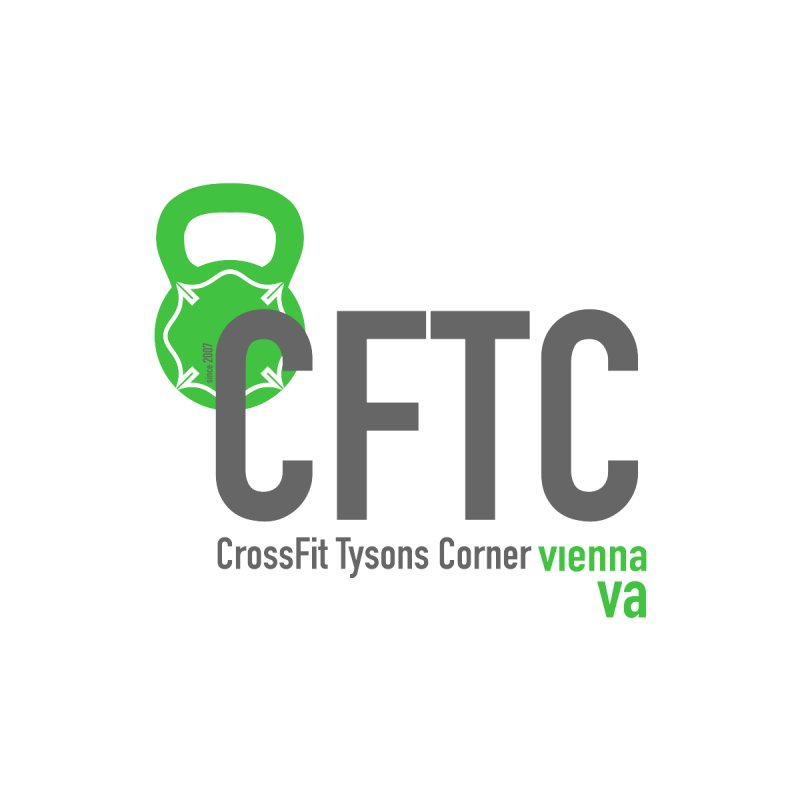 CFTC Basic - Dark Text by CrossFit Tysons Corner Apparel