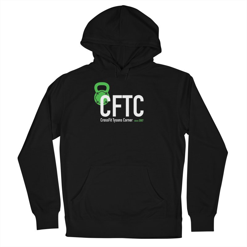 CFTC Basic in Men's French Terry Pullover Hoody Black by CrossFit Tysons Corner Apparel